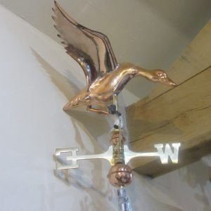 Weathervane Landing Duck