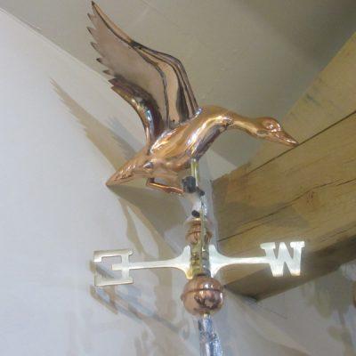 Weathervane Landing Duck