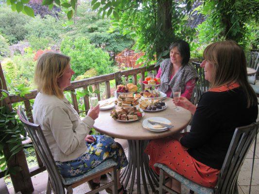 Afternoon Tea at Larch Cottage Nurseries