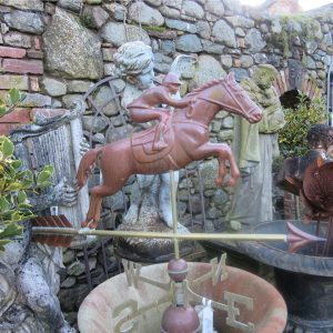 Weathervane Jumping Horse