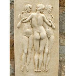 3 graces plaque
