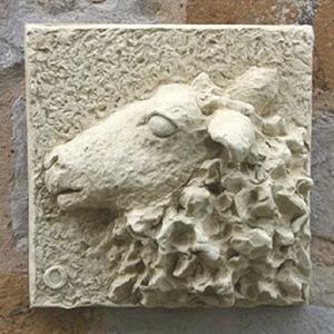 Ewe plaque
