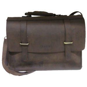 Kansas - Oil Pullup Buffalo Leather Bag