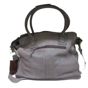 Meghan Grey leather handbag