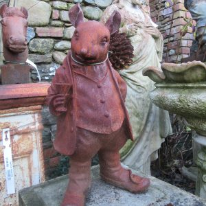 Mr Ratty at Larch Cottage Nurseries