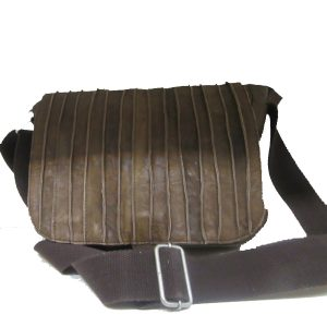 ZF Twenty Five - Raw Stripe Brown handbag
