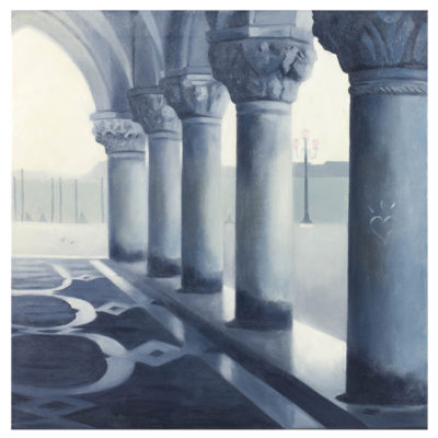 lesley banks fog in the arcade